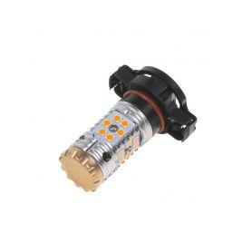 LED PSY24W oranžová, CAN-BUS, 12-24V, 24LED/3030SMD