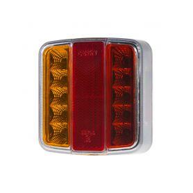 TRL08LED Sdružená lampa zadní LED 12V Zadní + kombinovaná