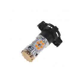 LED py24w oranžová, CAN-BUS, 12-24V, 24LED/3030SMD