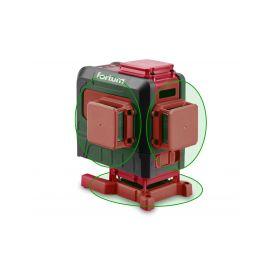 FORTUM EX4780216 Laser zelený 3D liniový, křížový samonivelační Laserová měřidla