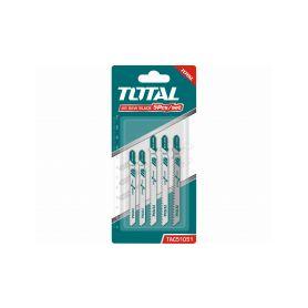 TOTAL-TOOLS TAC51051 Plátky do přímočaré pily, mix plátků, 5ks Příslušenství pro pily
