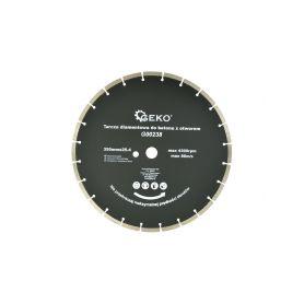 GEKO G00238 Kotouč diamantový řezný do betonu, 350x25,4 mm Diamantové řezné kotouče