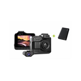 CEL-TEC K4 Dual GPS + powerbanka 10050mAh zdarma Dvoukanálové záznamové kamery