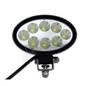 LED světlo na pracovní stroje elipsa 10-30V, homologace Domů