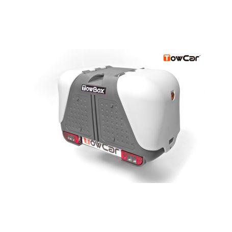 TowCar TowBox V2 šedý, na tažné zařízení Přepravní boxy na tažné zařízení