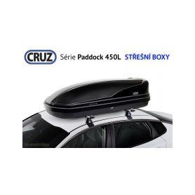Střešní box CRUZ Paddock 450N, lesklá černá Střešní boxy