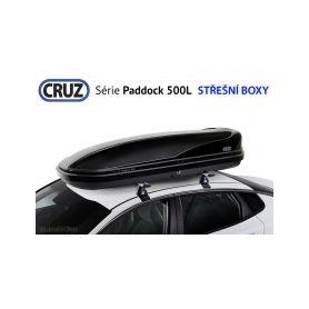 Střešní box CRUZ Paddock 500N, lesklá černá Střešní boxy