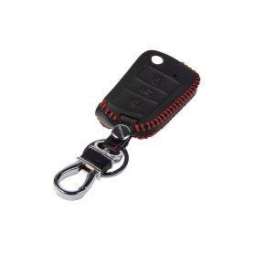 482VW117 Kožený obal pro klíč VW 3-tlačítkový 2014- Kožené obaly