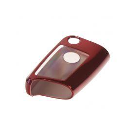481VW107RED2 TPU obal pro klíč VW, Škoda 3-tlačítkový, červený Silikonové obaly