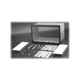 11065 2DIN univerzální kit pro rámečky 2ISO UNI rámečky a přihrádky