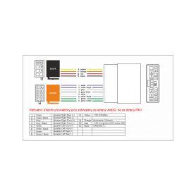 CL zásuvky  20111200 SWISSTEN CL ADAPTÉR 3x USB 5,2A POWER