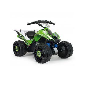 Injusa QUAD elektrická čtyřkolka Kawasaki Green 12V Elektrická vozítka