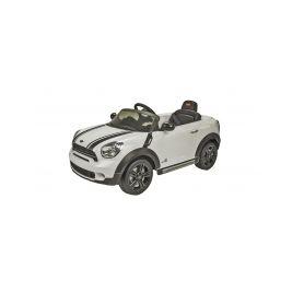 Run Run Toys elektrické autíčko Mini Countryman White 12V R/C Elektrická vozítka