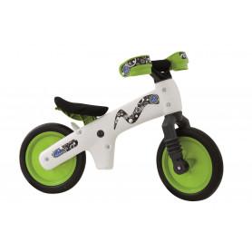 Bellelli B-BIP odrážedlo bílo-zelené dětské Tříkolky a odrážedla
