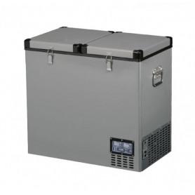TB118DD Steel kompresorová autochladnička Indel B, 118L, 12/24/230V Přenosné autolednice