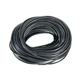W43 Bužírka černá 6mm, 100m Bužírky, trubičky, hadice, pásky