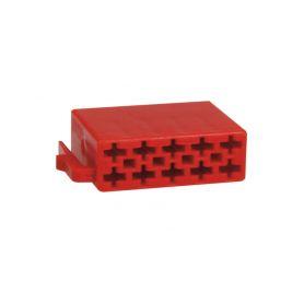 254112 Plastový kryt ISO - 10pin ISO - FAKRA piny, plasty