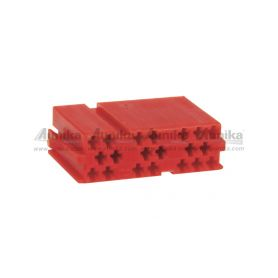 254079 Mini ISO plastový kryt ISO - FAKRA piny, plasty