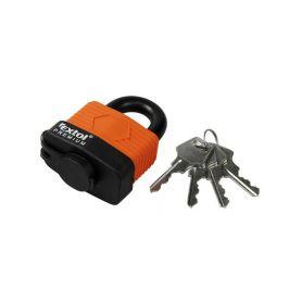 EXTOL-PREMIUM EX8857550 Zámek visací voděodolný, 50mm, 4 klíče Schránky a zámky