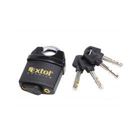 EXTOL-PREMIUM EX8857750 Zámek visací bezpečnostní voděodolný, 50mm, 4 klíče Schránky a zámky