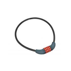 EXTOL-PREMIUM EX8857822 Zámek na kolo-lanko, kódové zamykání, 10x650mm Schránky a zámky