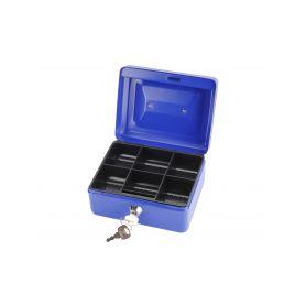 EXTOL-CRAFT EX99010 Schránka na peníze přenosná s pořadačem, 152x118x80mm, 2 klíče Schránky a zámky