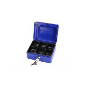 EXTOL-CRAFT EX99011 Schránka na peníze přenosná s pořadačem, 200x160x90mm, 2 klíče Schránky a zámky