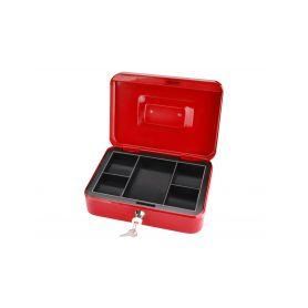 EXTOL-CRAFT EX99012 Schránka na peníze přenosná s pořadačem, 250x180x90mm, 2 klíče Schránky a zámky