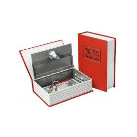 EXTOL-CRAFT EX99016 Schránka bezpečnostní - knížka, 180×115×54mm, 2 klíče Schránky a zámky