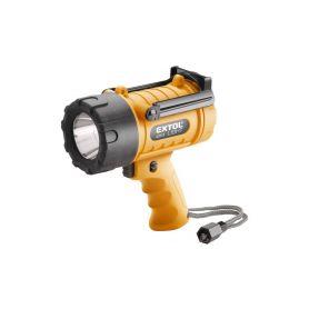 EXTOL-LIGHT EX43113 Svítilna 5W CREE XPG LED, vodotěsná, 300lm, dosvit 400m, čas svícení 6h Ruční svítilny