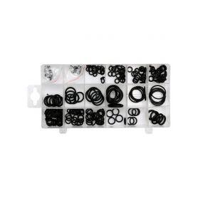 YATO YT-06877 O kroužek gumové těsnící, sada 225ks, 3x1 -22x2mm Montážní materiál
