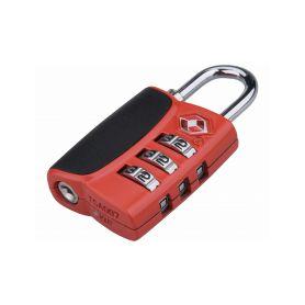 EXTOL-PREMIUM EX8857301 Zámek kombinační TSA s trojmístným kódem, 61x32xtl.14mm Schránky a zámky