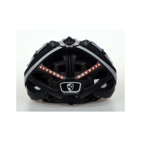 SAFE-TEC 2003-072 TYR 3 Black-Silver XL (61cm - 63cm) Chytré bluetooth helmy na kolo