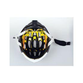 SAFE-TEC 2003-076 TYR 3 White L (58cm - 61cm) Chytré bluetooth helmy na kolo