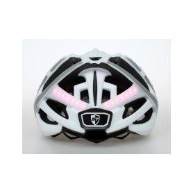 SAFE-TEC 2003-075 TYR 3 White XL (61cm - 63cm) Chytré bluetooth helmy na kolo