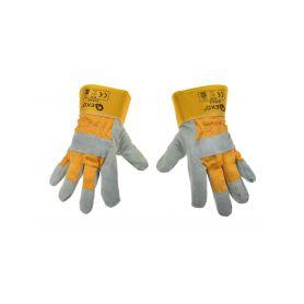 GEKO G73545 Kožené pracovní rukavice, vel. 10,5 Pracovní rukavice