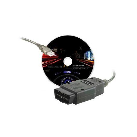 SIXTOL OBDLink SX diagnostika + CZ program TouchScan - 3 roky záruka SIXTOL