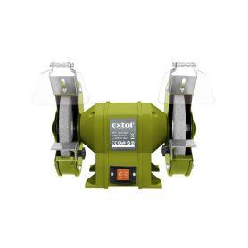EXTOL-CRAFT EX410130 Bruska stolní dvoukotoučová, 350W, 200x16x š.20mm Brusky