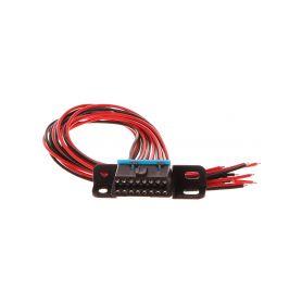 SIXTOL Zásuvka OBD2 s 16 piny ukončená 30 cm propojovacími kabely SIXTOL