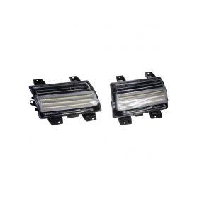 96JE03 LED dynamické blinkry + DRL Jeep Wrangler JL LED blinkry