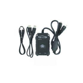 Connects2 - ovládání USB zařízení OEM rádiem Hyundai, Kia/AUX vstup
