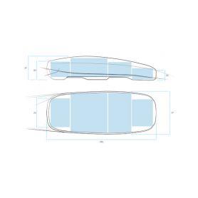 Oválné Calearo 2-7697330 Calearo 7697330 EL-4x6 koaxiální reproduktory 90x150mm