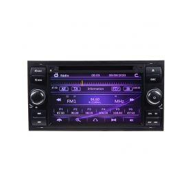 "80894 Autorádio pro Ford 2005-2012 s 7"" LCD, GPS, ČESKÉ MENU Pevné GPS navigace"