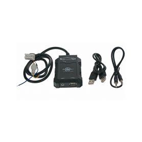 55USBNS001 Connects2 - ovládání USB zařízení OEM rádiem Nissan/AUX vstup USB adaptéry Connects2