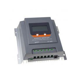 34404BT Inteligentní MPPT solární regulátor nabíjení, 20A s LCD, Bluetooth Fotovoltaika