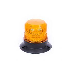 Oranžový maják s 3-bodovým úchytem, 12LED, EB5001A