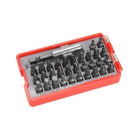 EXTOL-PREMIUM EX8819641 Hroty, sada 33ks, magnetický držák hrotů, CrV Nářadí výprodej