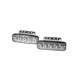 SJ-286 LED světla pro denní svícení, 147x45mm, ECE Denní svícení UNI
