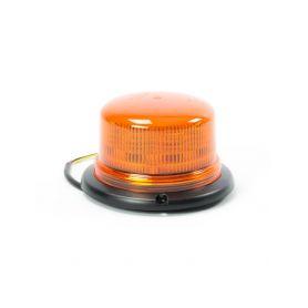 JULUEN Oranžový maják s 3-bodovým úchytem, 8LED, B16-3B-A