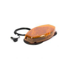 JULUEN LED mini rampa, oranžová, magnetický úchyt, R65, oranžový kryt L04-MAG-AA